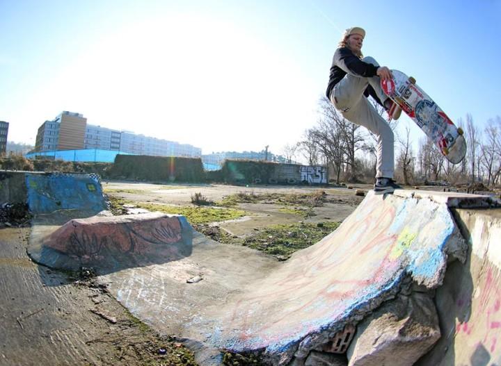Vejceho demontáž skateboardingu
