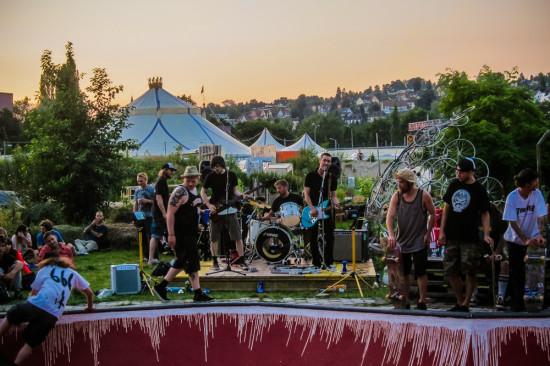 Koncert na Summer Festu. Fotil Manu Hitz