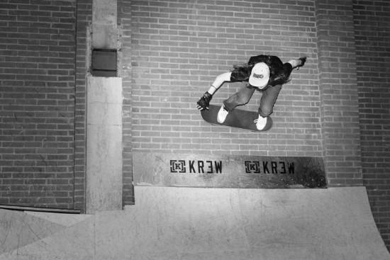 Wallride v Haagu. Foto: Renee Joppe