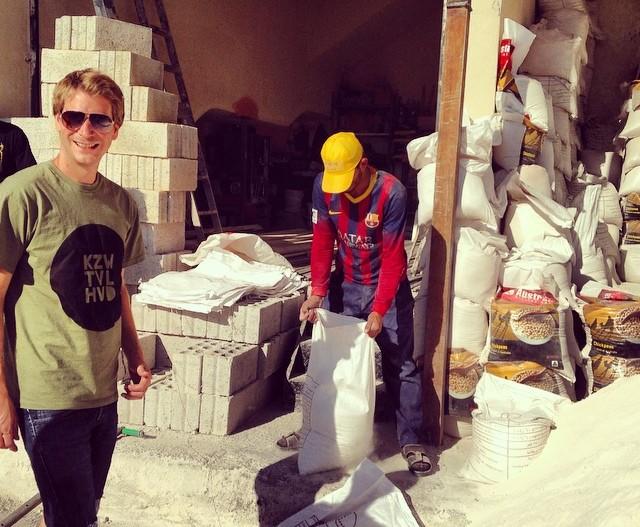 Společně 7 Hills skatepark v Jordánsku postavíme
