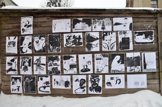 kresby, polsko