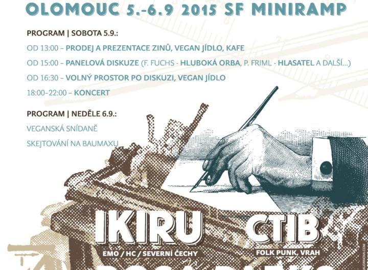 Dělejte ziny, ne válku: DIY zine fest v Olomouci už tento víkend!