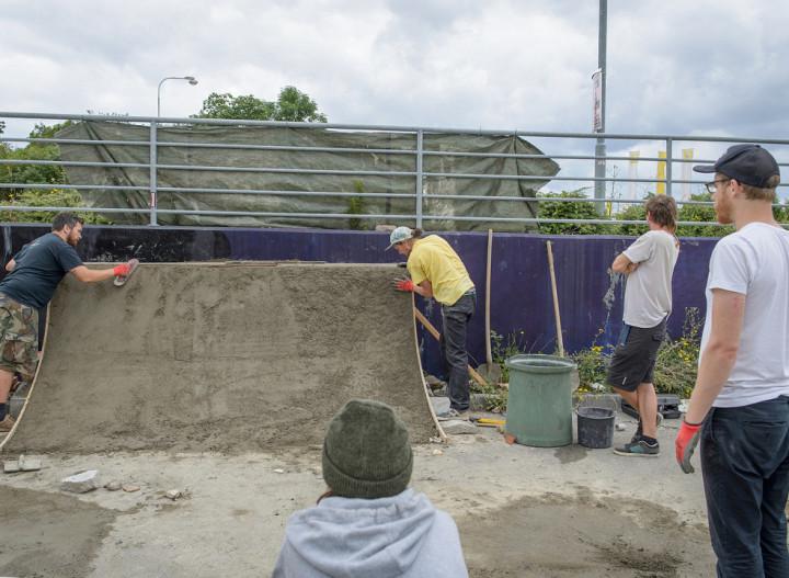 Setkání společenství betonu