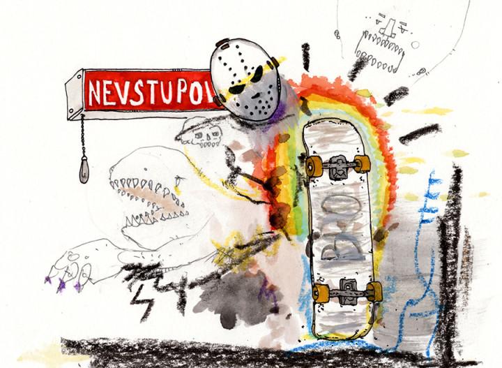 Sanatorium skateboarding