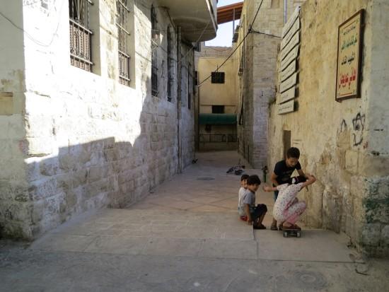 ranej street skateboarding v Náblusu